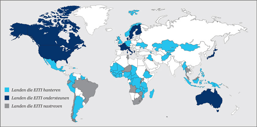 World Map EITI