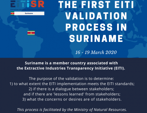 First EITI validation process in Suriname